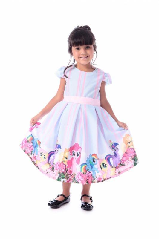 Vestido My Little Pony Festa Infantil