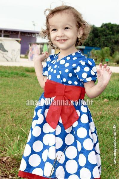 Vestido Festa Galinha Pintadinha Infantil