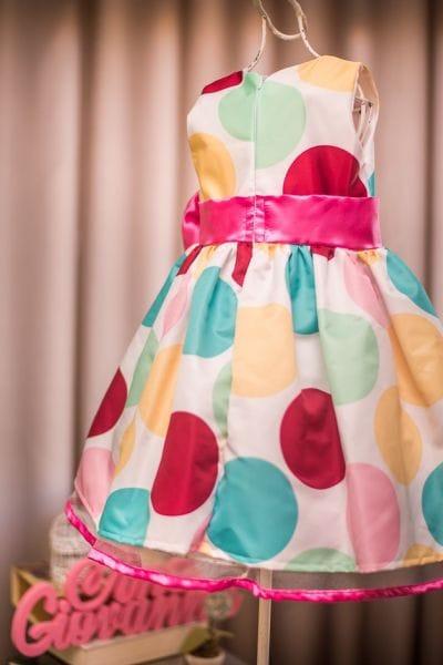 Vestido Infantil Patati Patata com Laço Pink