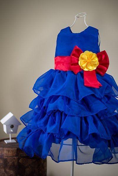 Vestido de Festa Infantil Show da Luna