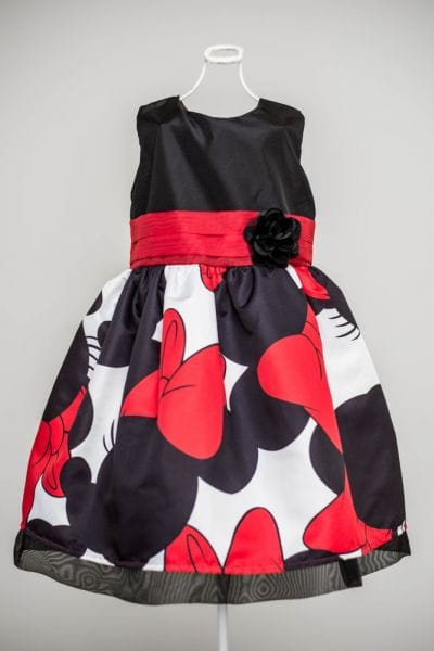 Vestido para Festa Infantil da Minnie Luxo