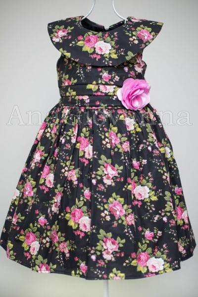 Vestido Infantil Floral para Festa