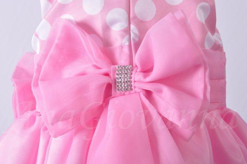 Vestido da Minnie Rosa Luxo