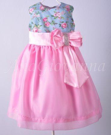 Vestido de Festa de aniversário infantil