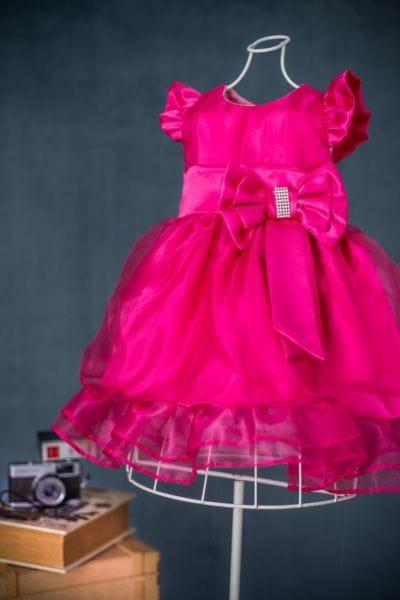 Vestido Infantil de festa Pink