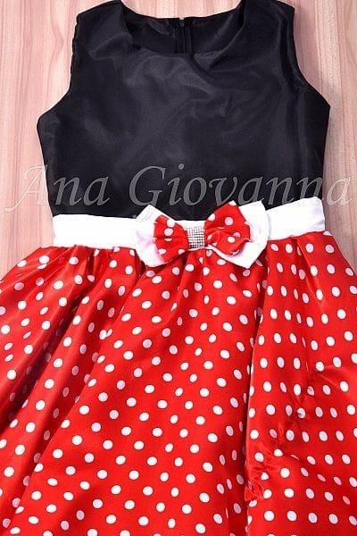 Vestido Adulto da Minnie