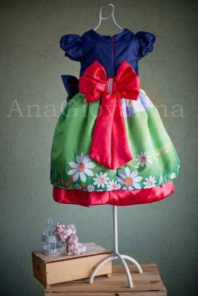 Vestido Infantil Show da Luna