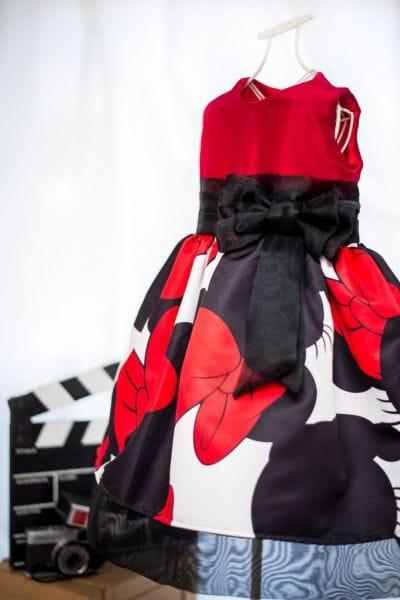 Vestido de Festa da Minnie Vermelha