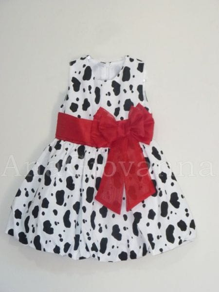 Vestido Infantil Fazendinha com Vermelho