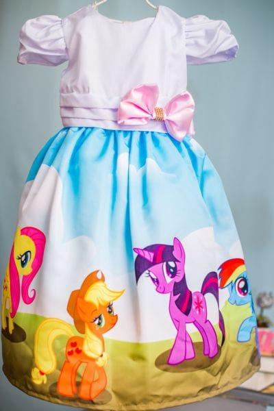 Vestido My Little Pony Festa de Aniversário