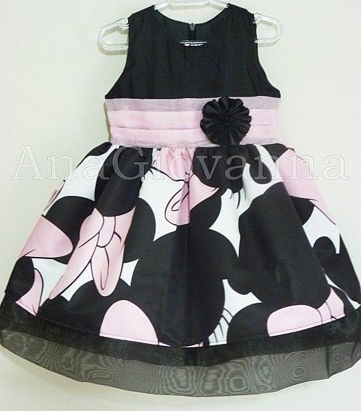 Vestido de festa da Minnie