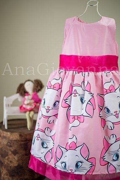 Vestido Gata Marie Infantil