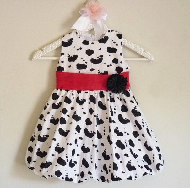 Vestido para Festa Infantil de aniversário Fazendinha