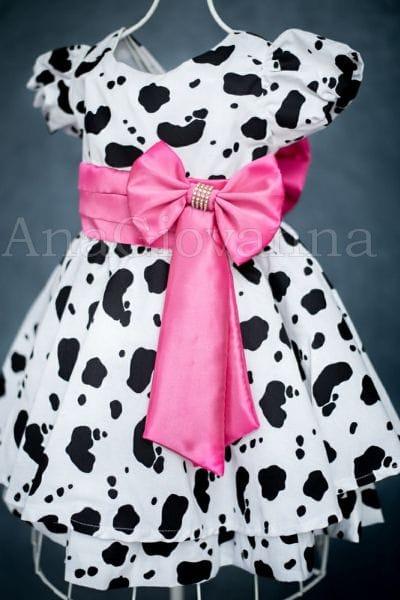 Vestido Fazendinha Rosa Pink