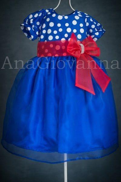Vestido para Aniversário da Galinha Pintadinha