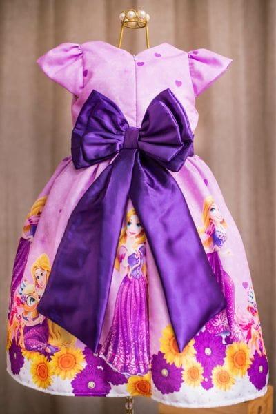 Vestido da Rapunzel