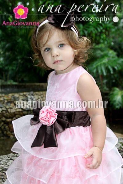 Vestido Princesa Infantil de Organza
