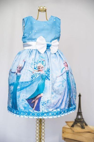 Vestido da Elsa Infantil