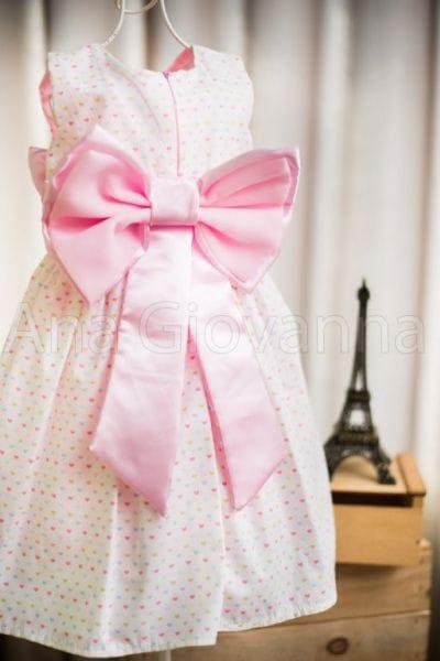 Vestido Infantil de aniversário