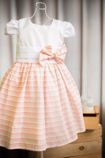 Vestido para formatura de criança