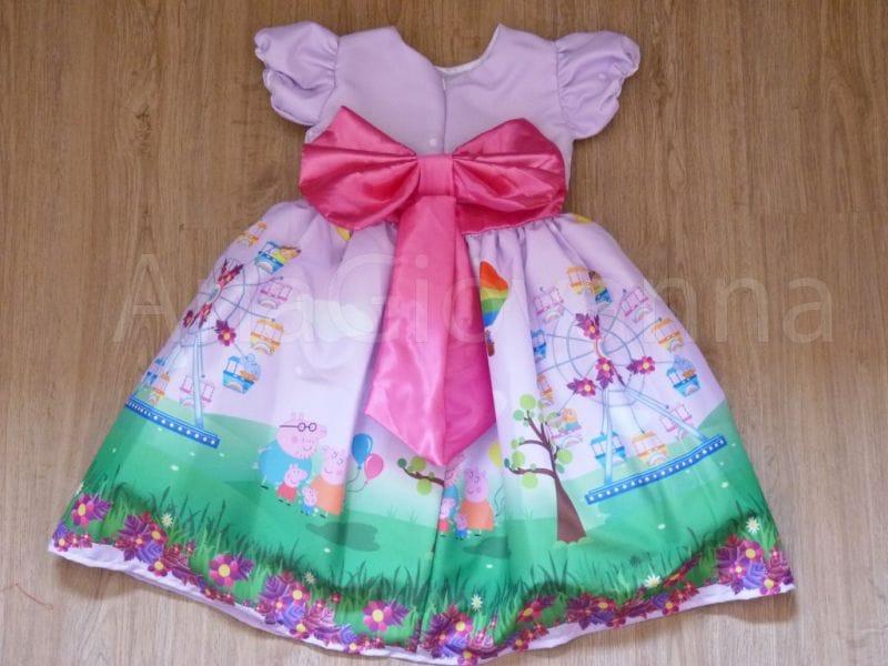 Vestido da Peppa Pig Luxo