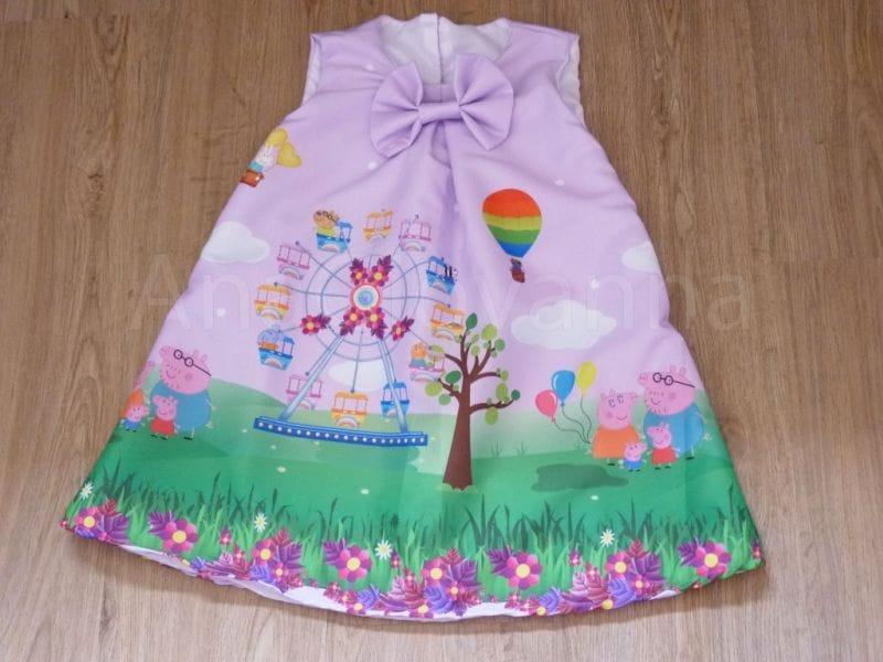 Vestido da Peppa Pig Infantil