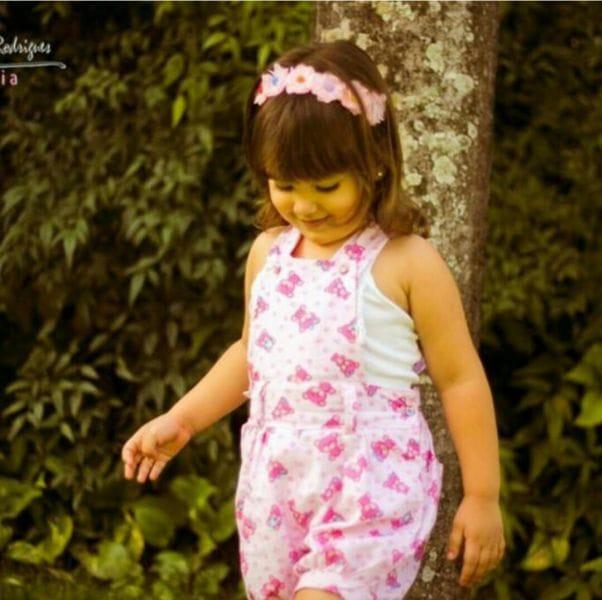 Macacão Infantil Ursinhos