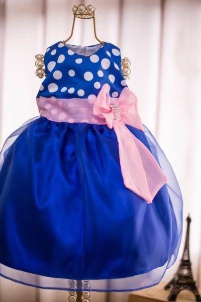 Vestido Temático Galinha Pintadinha Rosa