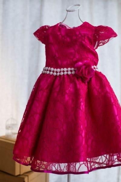 Vestido de formatura infantil rosa pink