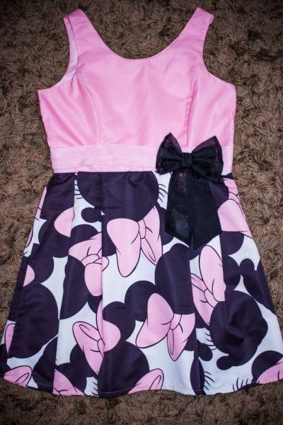 Vestidos Tal Mãe Tal Filha Minnie Rosa
