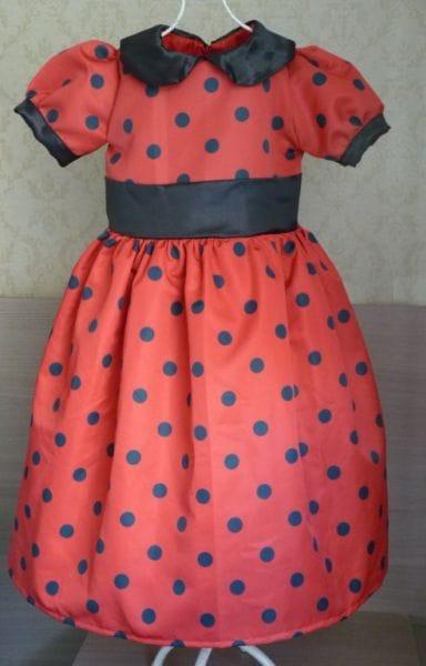 Vestido da LadyBug Miraculous