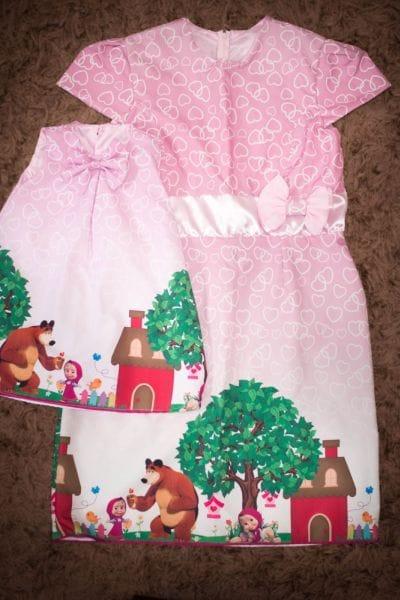 Vestidos Tal Mãe Tal Filha Da Masha E O Urso