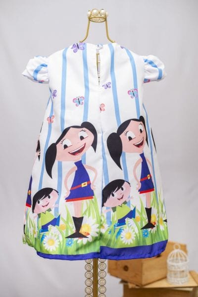 Vestido Infantil de Festa Show da Luna Infantil