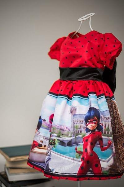Vestido LadyBug Miraculous