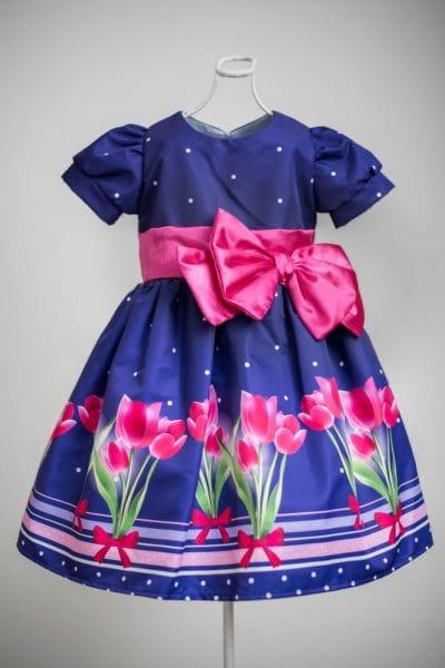 Vestido Infantil Festa Luxo