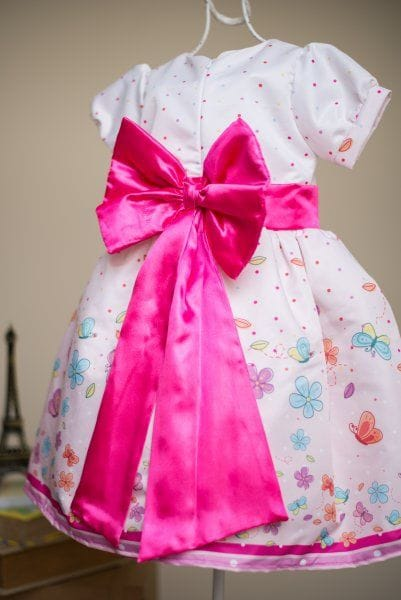 Vestido Para Festa Infantil Borboletas