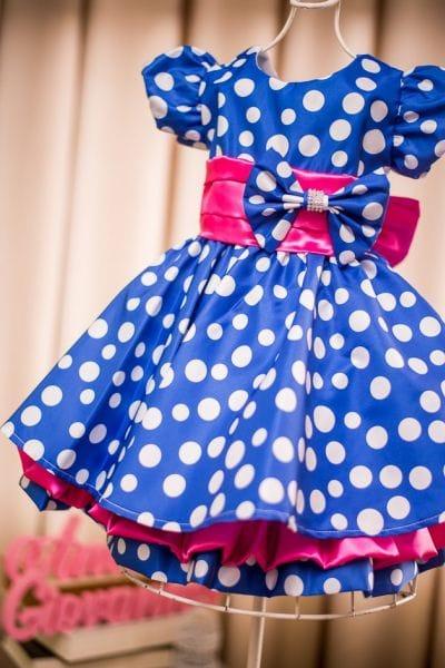 Vestido Galinha Pintadinha Rosa