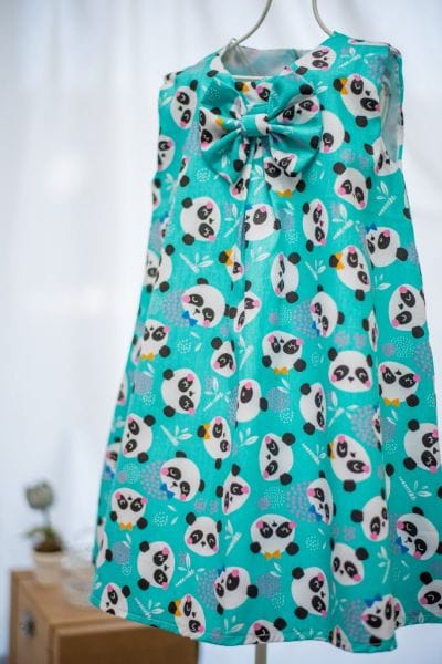 Vestido Infantil Panda