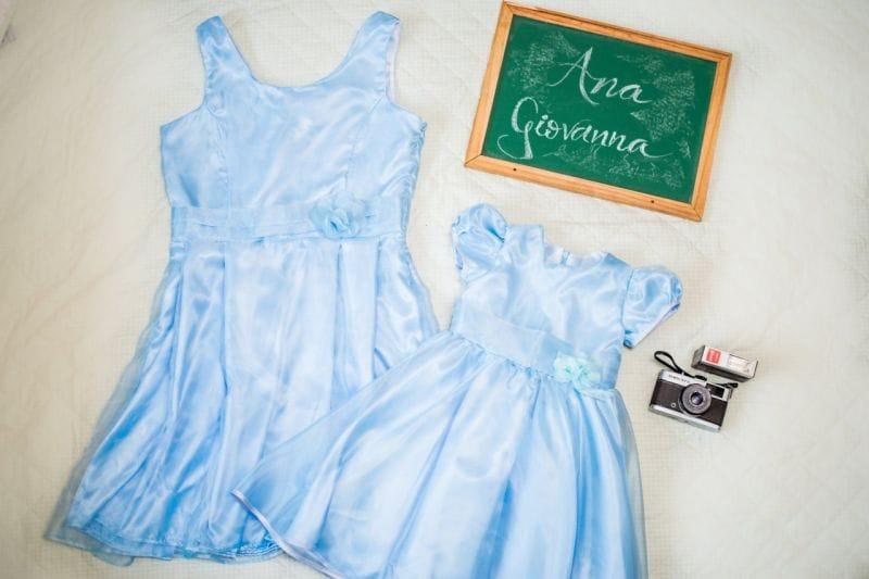 Vestidos Mãe e Filha Cinderela