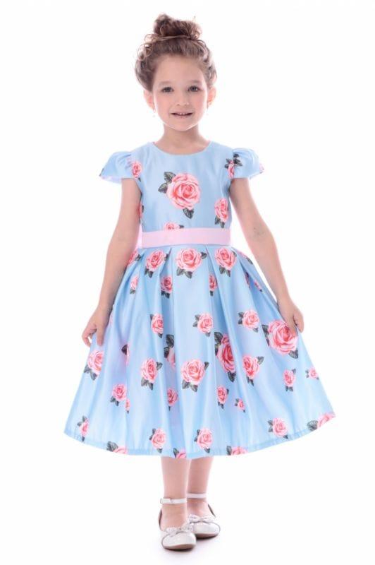 Vestido de Festa Infantil Luxo
