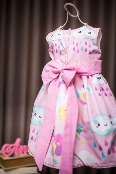 Vestido Chuva de Amor simples