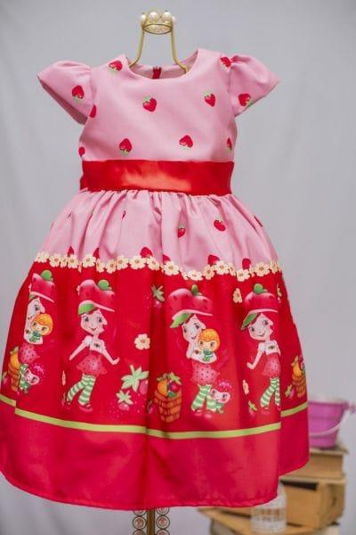 Vestido de Festa da Moranguinho