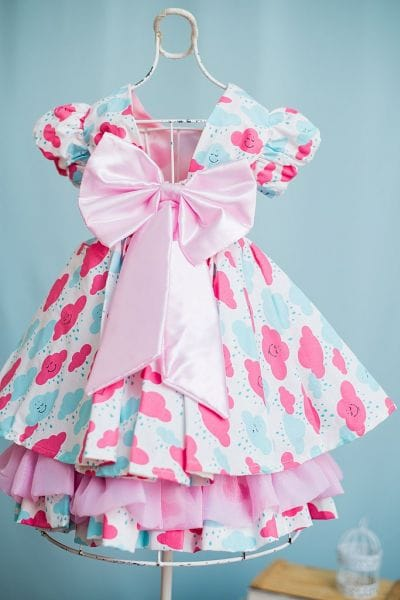Vestido de Festa Chuva de Amor