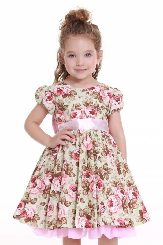 Vestido Jardim Encantado Infantil