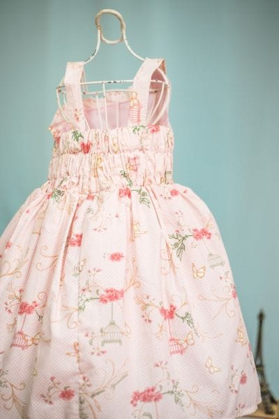 Vestido Borboletas Infantil