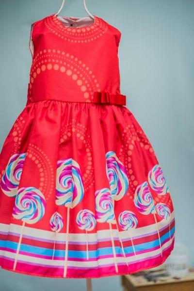 Vestido Infantil Doceria