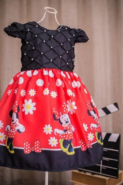 Vestido da Minnie Luxo