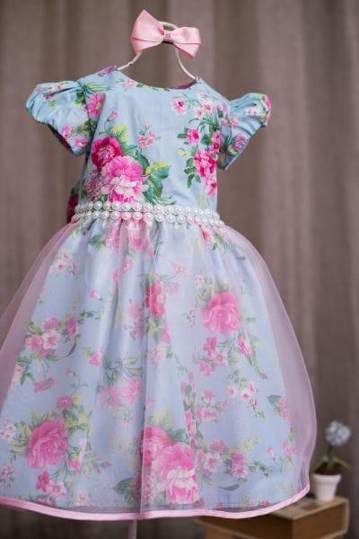 Vestido Para Festa Infantil Daminha Florista Princesa