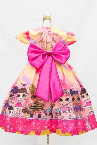 Vestido da Boneca Lol Surprise