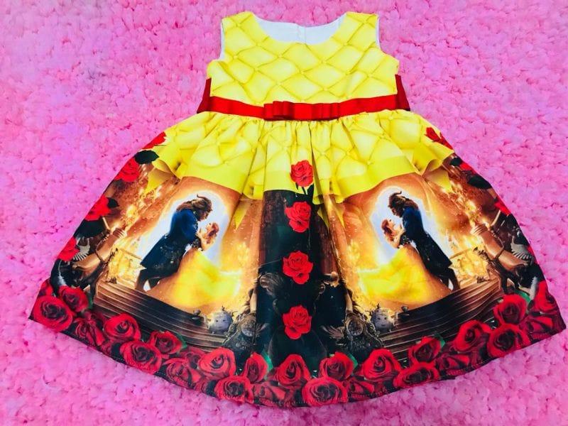 Vestido da princesa Bela e a Fera
